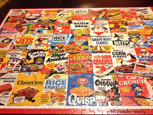 White Mountain Cereal Puzzle