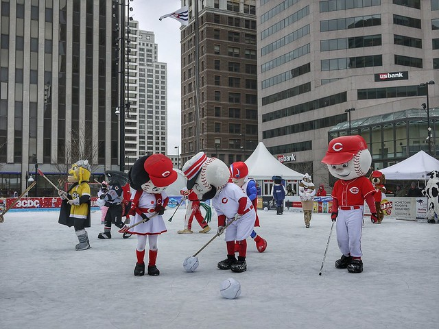 Mascot Broomball