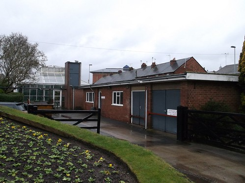Stafford glasshouse buildings