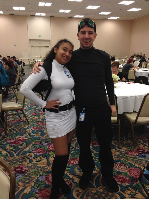 Lana Kane and Archer Sterling at Breakfast