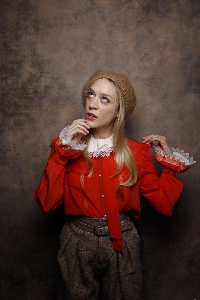 Хлоя Севиньи — Фотосессия для «Любовь и дружба» на «Sundance» 2016 – 7