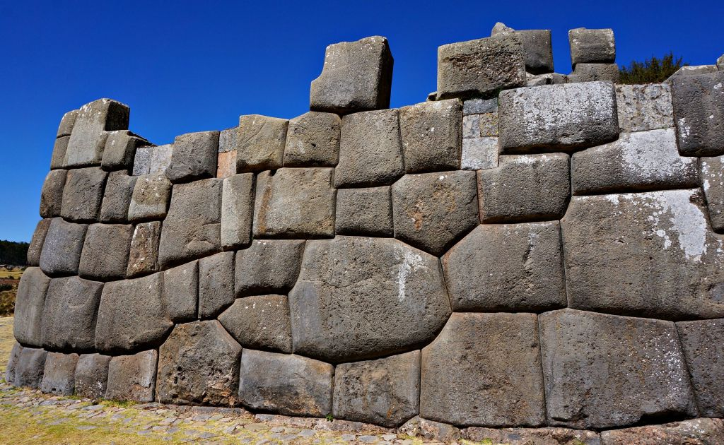Stone work in Cusco Ruins