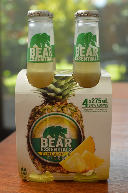 Bear Essentials pineapple cider