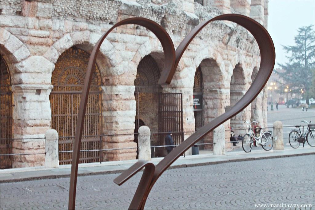 Love in Piazza Bra