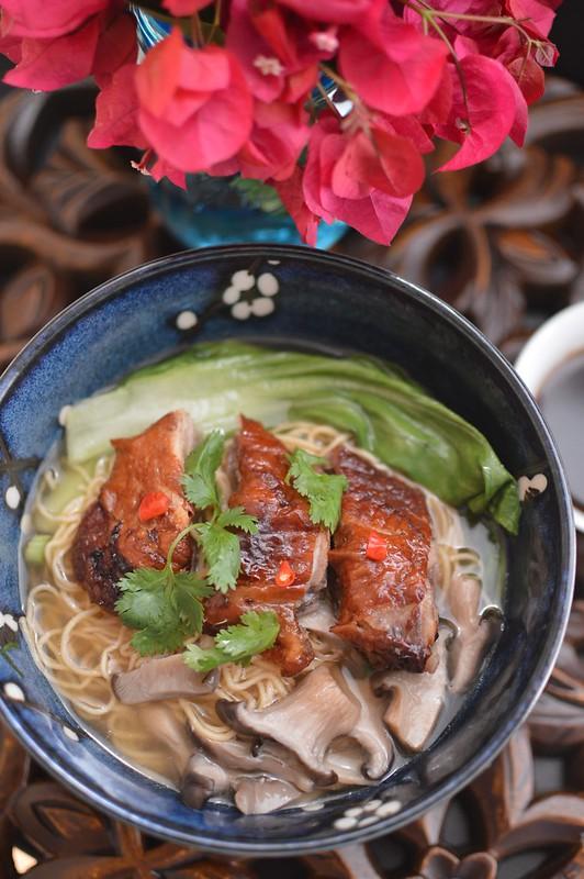 Roast Duck Noodle Soup