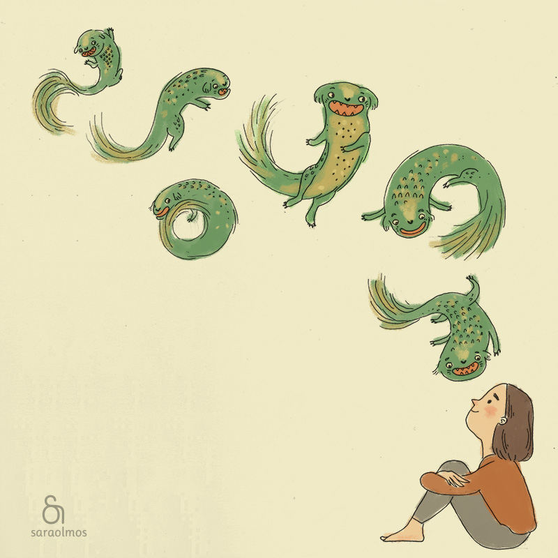 Little Dragon - Illustration
