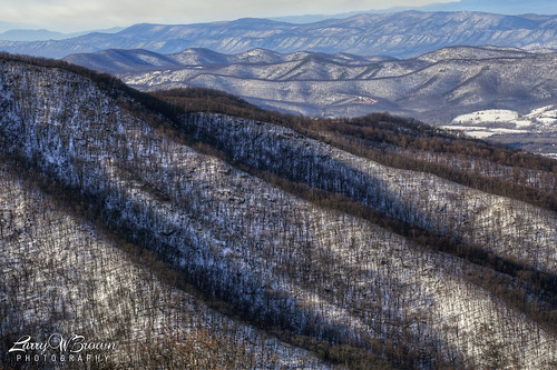 winter snow mountains virginia shenandoahnationalpark timberhollowoverlook