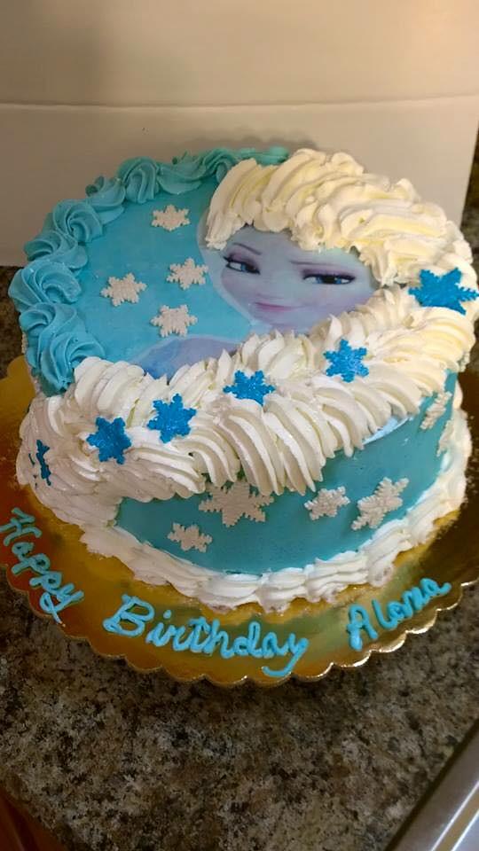 Frozen Cake By Doralene Jacksonville FL Birthdaycakes4free