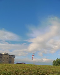 #shotonmylumia #shotonlumia #lumia735 #4blend #4blendhdr #thelumians #sky #bluesky #clouds #city #cityscape #town #landscape #green #loves_landscape #loves_mediterraneo #scopriamobenevento #paesaggisannio