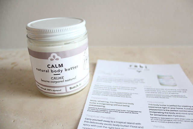 Robi Body Butter review
