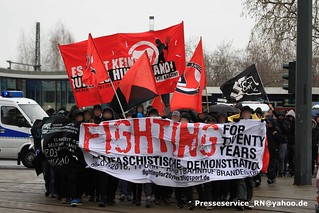 2016.02.20 Brandenburg an der Havel Antifa Gedenkdemo (1)