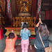 After decades of communist rules, Chinese have mostly abandoned their religion, but Lana Temple in Beijing is a place where you can still see people pray