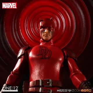 MEZCO – ONE:12 COLLECTIVE 系列【夜魔俠】Daredevil