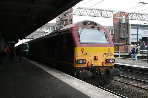 DB Schenker 67028, Nuneaton