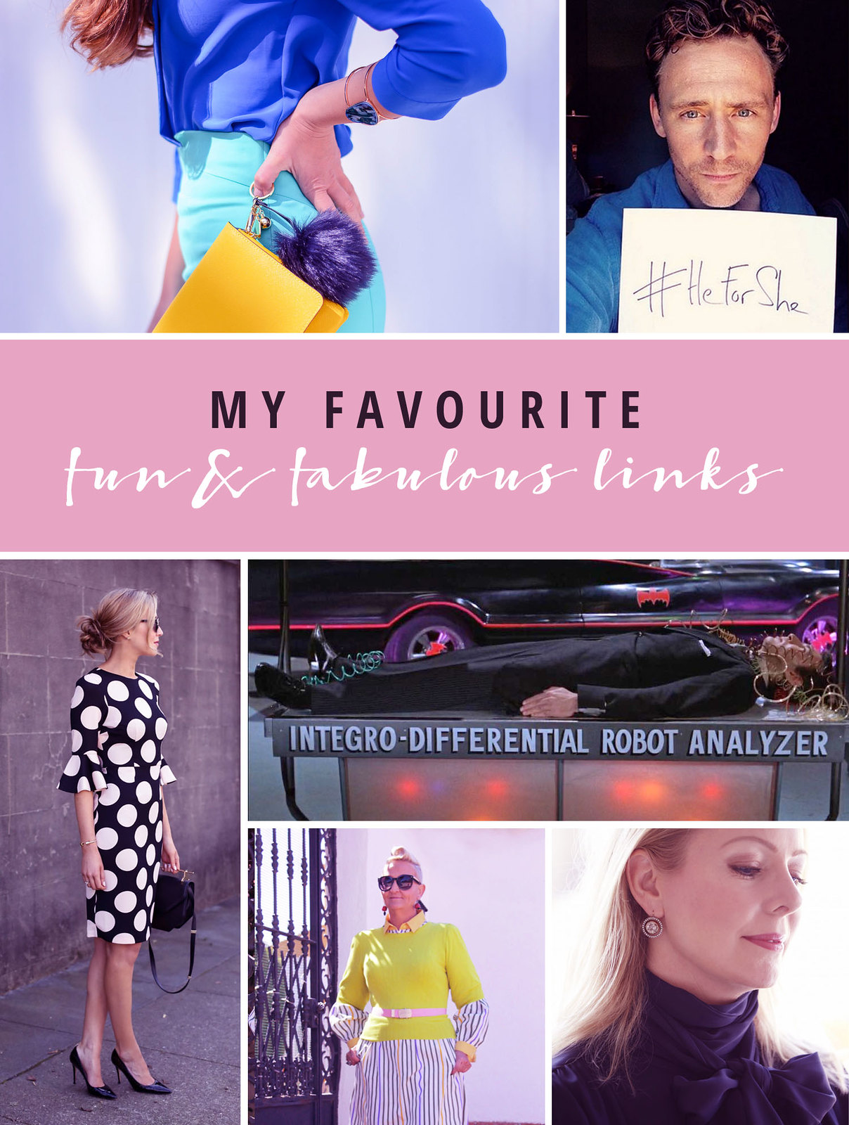My Favourite Fun & Fabulous Links March 2016 | Not Dressed As Lamb