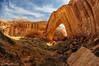 Broken Bow Arch near Escalante Utah