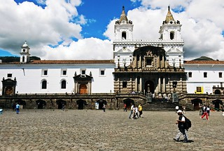 San Francisco square - Quito