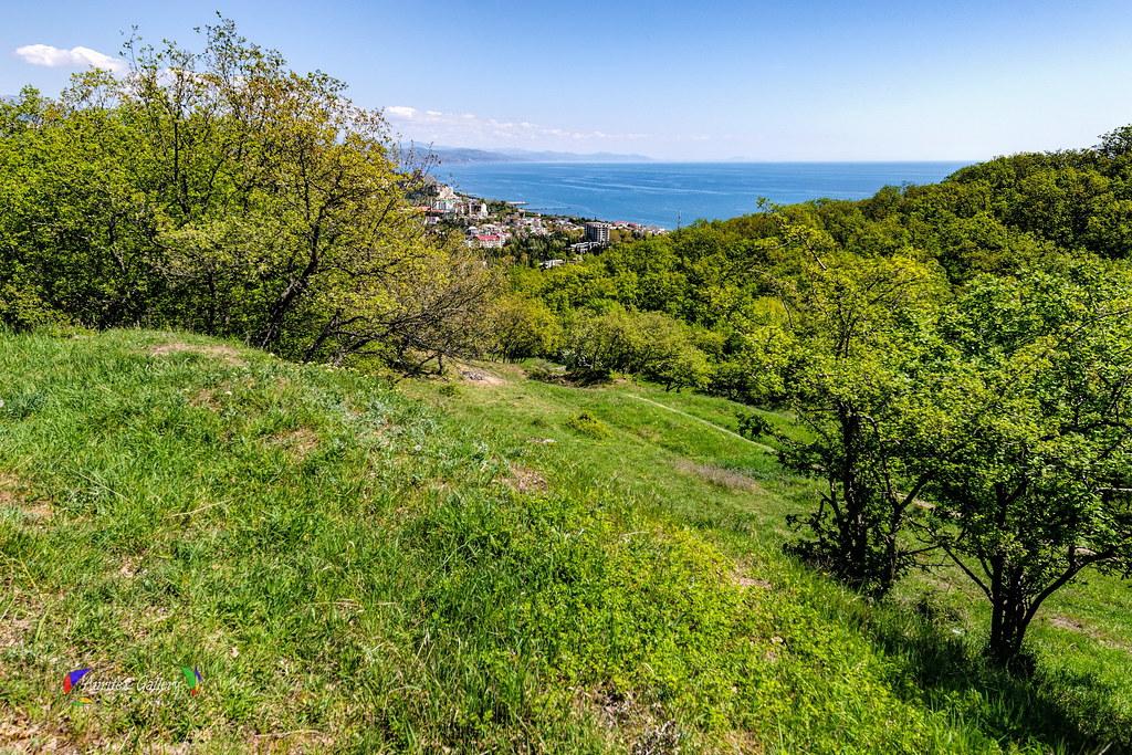 Black sea. Crimean Ciyscape.