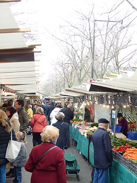 marché d'iéna