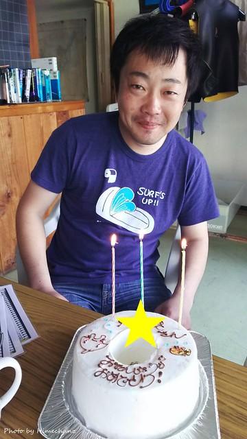 Kさんのお誕生日祝いを昨日させていただきました♪