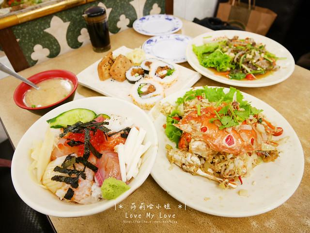 台北西門町美食餐廳推薦美觀園生魚片飯 (14)