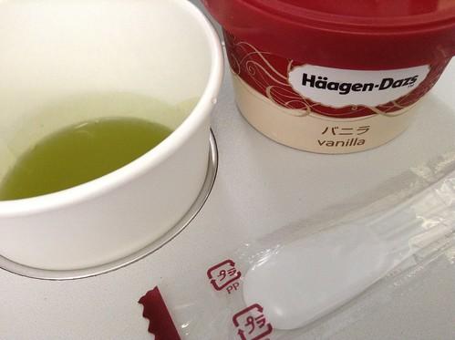 日本抹茶+哈根达斯