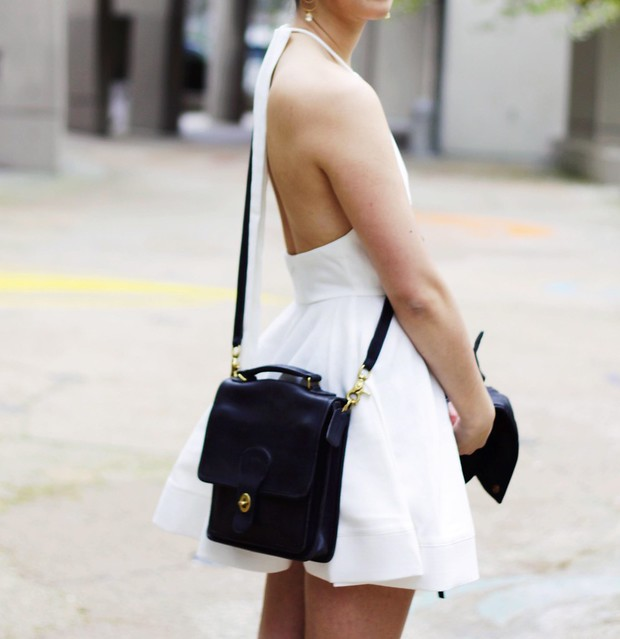 the demure muse: date night outfit ideas ft Comeshopwithlove.com backless white dress