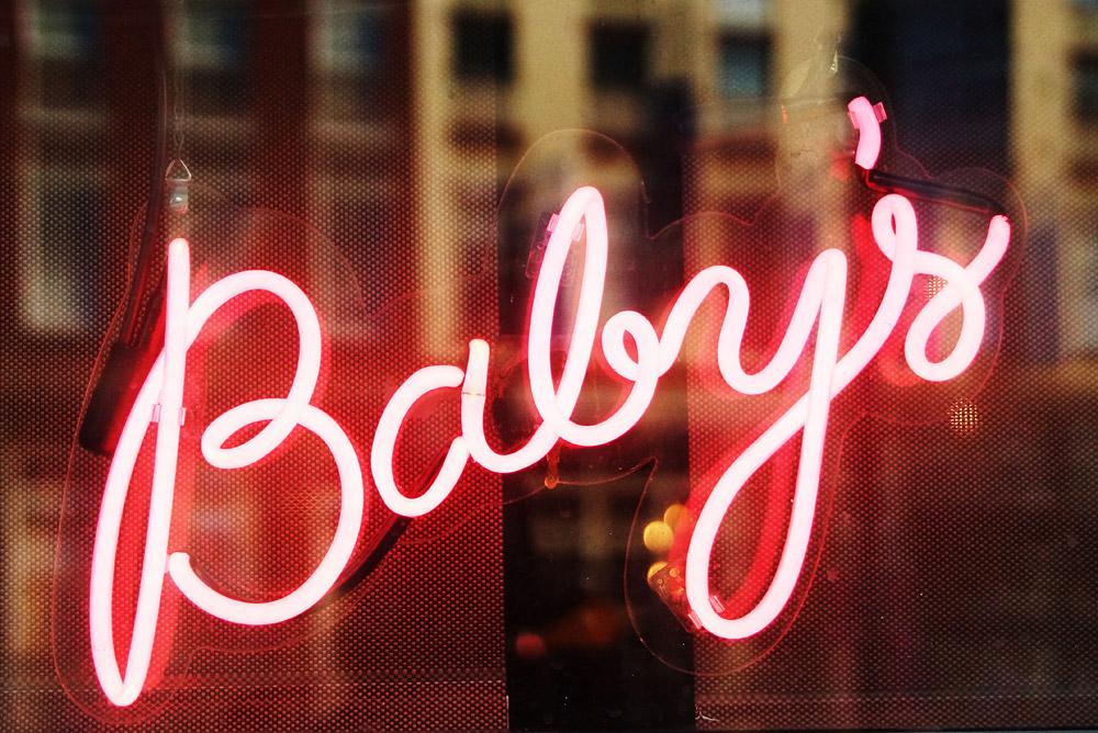 BTS: Monika @ Baby