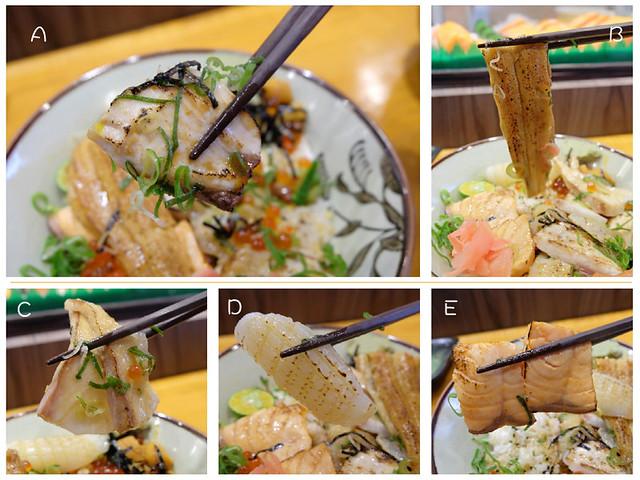 生魚片炙燒海鮮-S