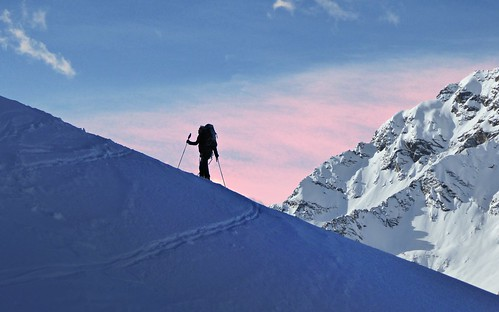 Ski touring: up to the mountains | by Gael Varoquaux