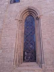 ventana gótica catedral de Valencia