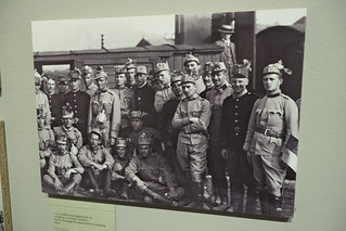 Volunteer Austrian soldiers WWI