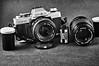 Minolta XG-M in B&W by Old Phart's Photo