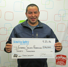 Gabriel Salinas Rodriguez - $30,000 Idaho Loteria