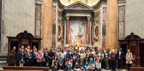 160405 - Pilgrimage to Rome by the Confirmation Candidates of St. Thomas Parish, Canterbury