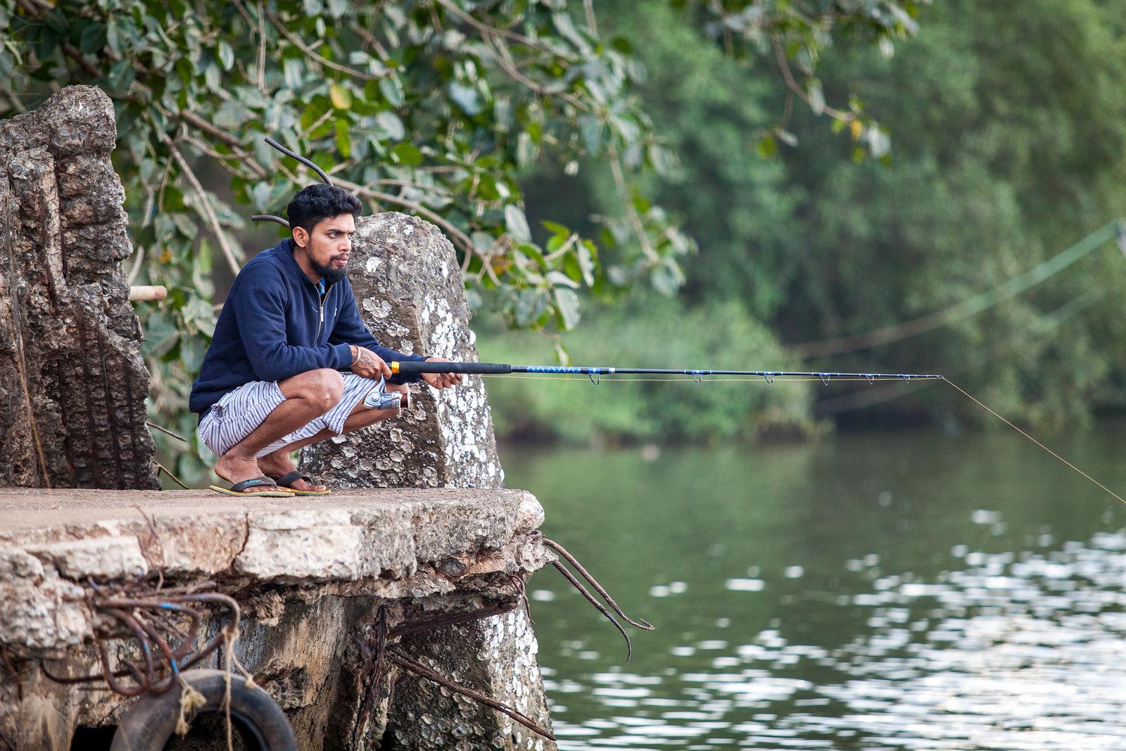 Local guy fishing