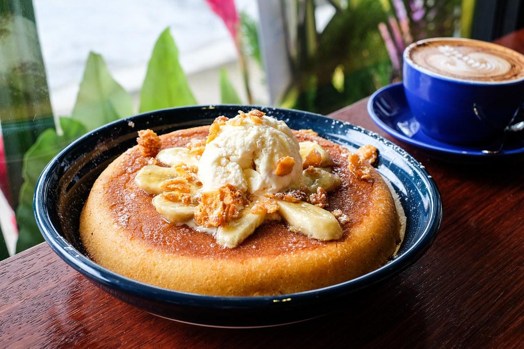 Atlas Coffeehouse: Butterscotch Banana Pancake
