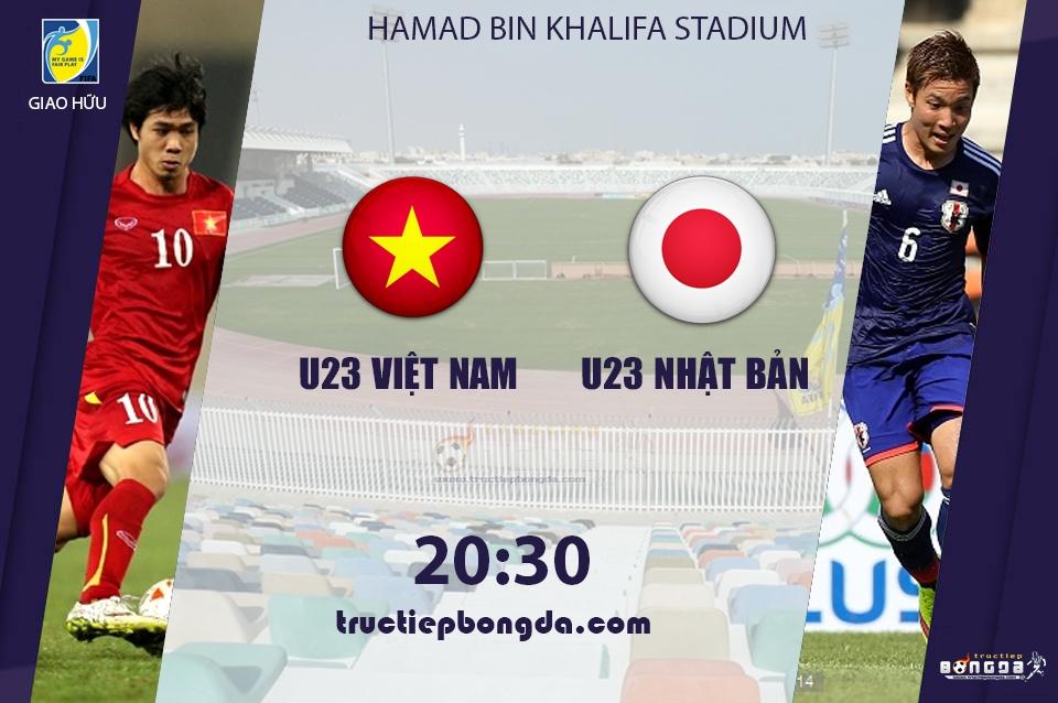 U23 Việt Nam vs U23 Nhật Bản