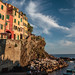 Riomaggiore sunset by ivan.kovacevic