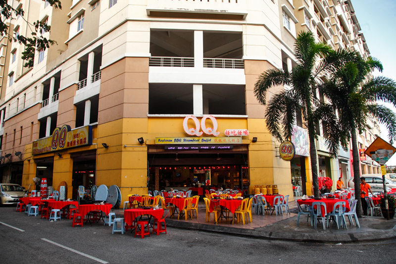 QQ烧烤汽船自助餐