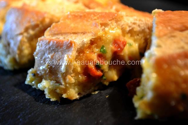 Baguette Croustillante au Fromage et Chorizo © Ana Luthi Tous droits réservés 019