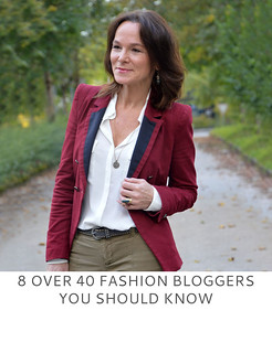 8 Over 40 Fashion Bloggers You Should Know   Not Dressed As Lamb