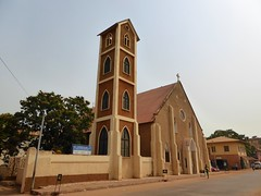 Happy Sunday ! / Roman Catholic cathedral (our Lady of the Assumption), Banjul, The Gambia