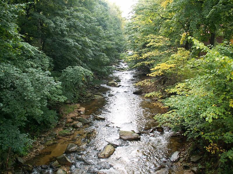 Rzeka Kwisa w Świeradowie-Zdroju