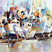 1 Sailboats by purcell art