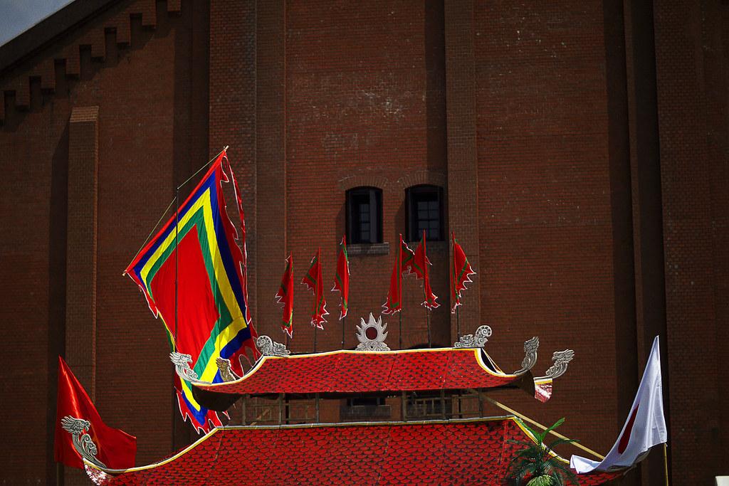 ヨコハマ散歩 赤レンガ倉庫の写真