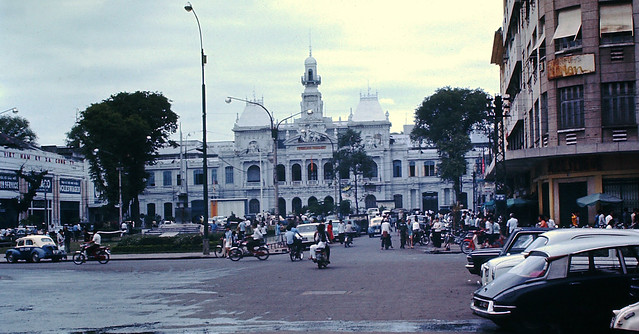 Saigon 1970 by Mark - City Hall - Lam Son Square - Tòa Đô Chánh