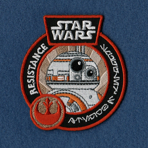 Star Wars Resistance patch (Smuggler's Bounty exclusive)