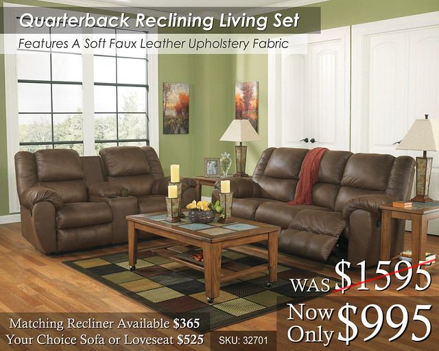 Quarterback Living Set