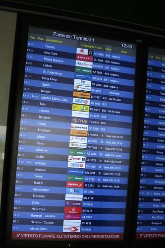 Milano Malpensa airport